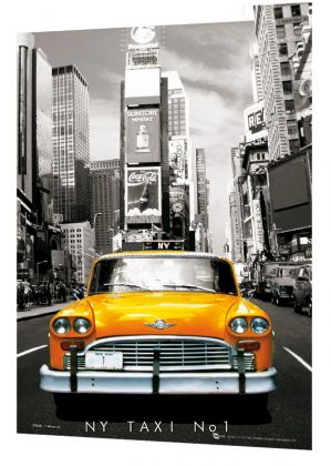 New York Cab 3D A3